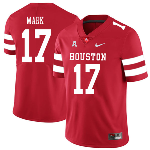 2018 Men #17 Terry Mark Houston Cougars College Football Jerseys Sale-Red