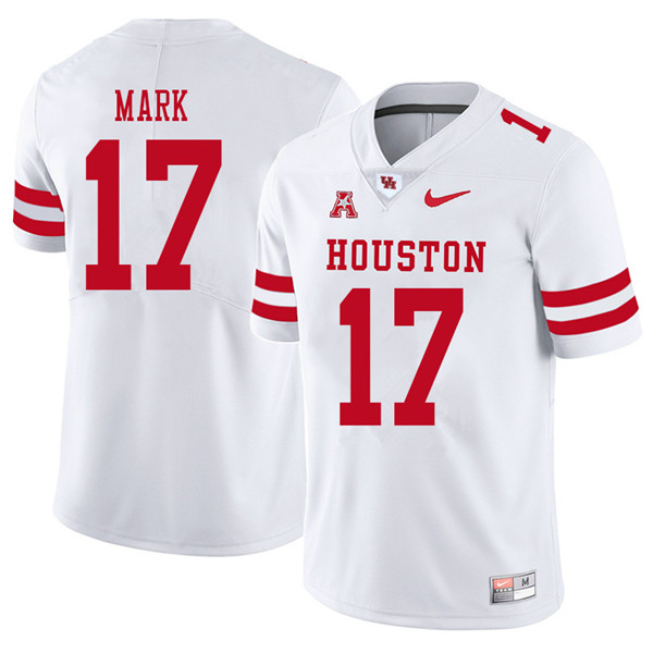 2018 Men #17 Terry Mark Houston Cougars College Football Jerseys Sale-White
