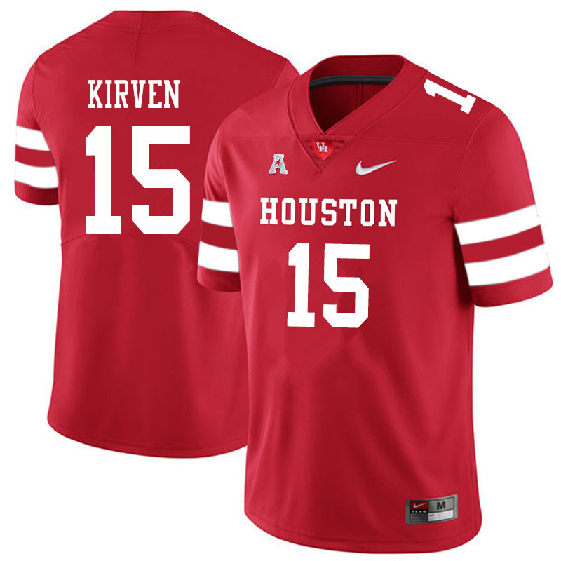 Men #15 Zamar Kirven Houston Cougars College Football Jerseys Sale-Red